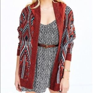 Urban Outfitters Ecote Hooded Cardigan